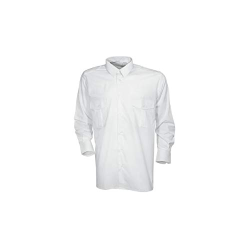 Chemise & chemisette pilote blanche CityGuard - Blanc - 41/42