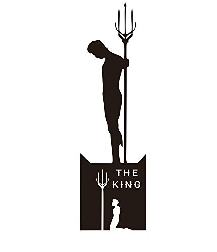 wonder4life THE KING God Of War Funny Car Vinyl Sticker For Car Truck Laptop Travel Case Decal Silhouette Car Stickers 20 cm