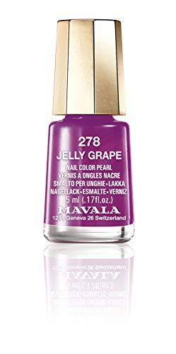 Mavala Mini Color Vernis à Ongles Crème Couleur 278 Jelly Grape 5 ml