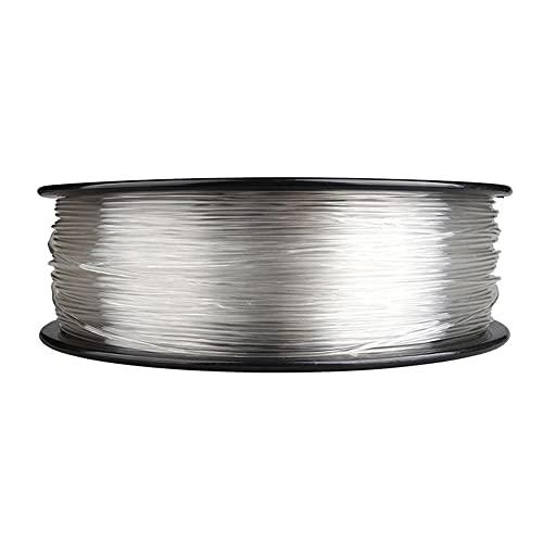 3D Printer Filament, PMMA Acrylic Material, Good Weather Resistance, Good Rigidity, 1.75mm, 1kg Spool-Transparent_1.75mm