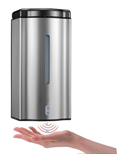 Soap Dispenser Automatic Soap Dispenser Stainless Steel Sensor Soap Dispenser Automatic Soap Dispenser Sensor Soap Dispenser-A 9.5x10x20cm(4x4x8inch) Polykor