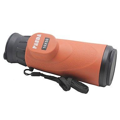 WYFC 10x 50mm Einäugig 10*50 Generisches / Spektiv 94m / 1000m 10X Zentrale Fokussierung MehrfachbeschichtungAllgemeine Anwendung /