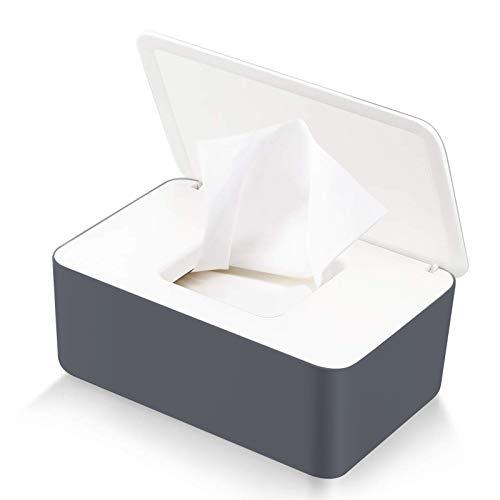 Caja para toallitas húmedas,Caja De Servilletas,Dispensador de toallitas de pañal Caja,Bebé Caso Titular Caja,Pañales de Bebé Mojado Tejido Caja (Z-B)