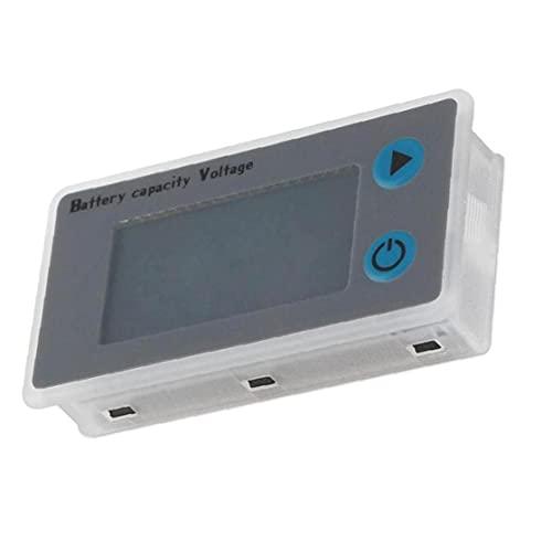 YepYes Tensión del Inspector medidor Digital JS-C33 24V Panel indicador de energía de la batería probador de la batería Comprobador de Capacidad