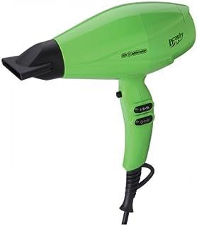 Jata SC1027V - Secador, 2200 W, función iónica, 2 velocidades, 3 niveles de temperatura, aire frio, difusor, color verde