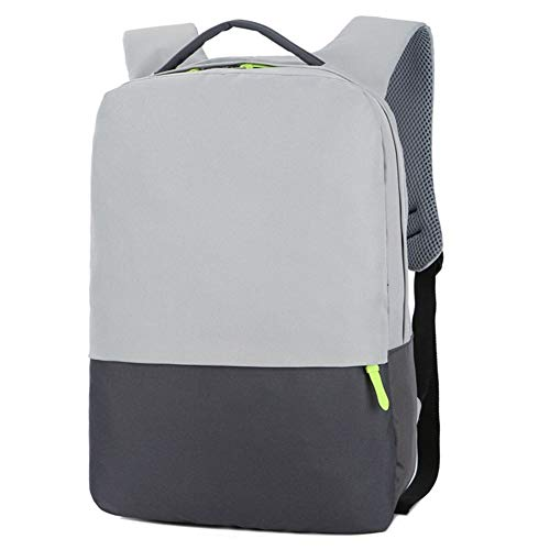 Backpack Waterproof Bag Laptop Bag Notebook Case Computer Bags Backpack (Color : Grey)