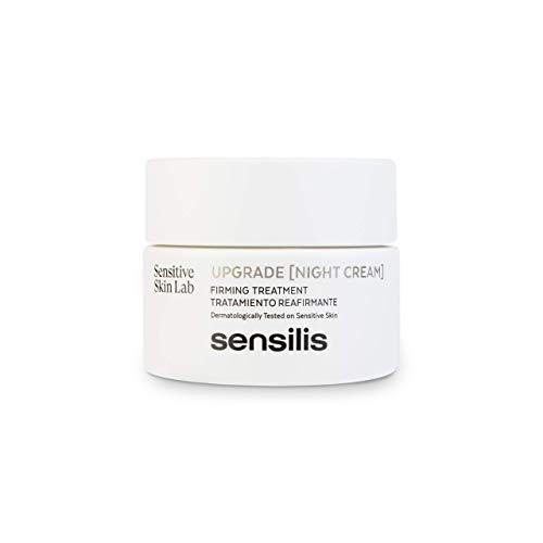Sensilis Upgrade - Crema de Noche Reafirmante y Regenerante para Piel Sensible - 50 ml