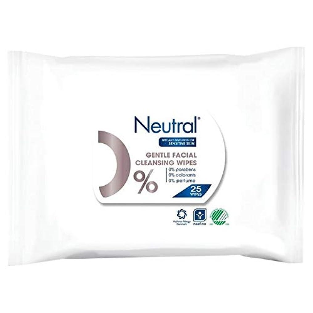 増幅器遺棄された切り刻む[Neutral ] ニュートラル0%顔はパックあたり25ワイプ - Neutral 0% Face Wipes 25 per pack [並行輸入品]