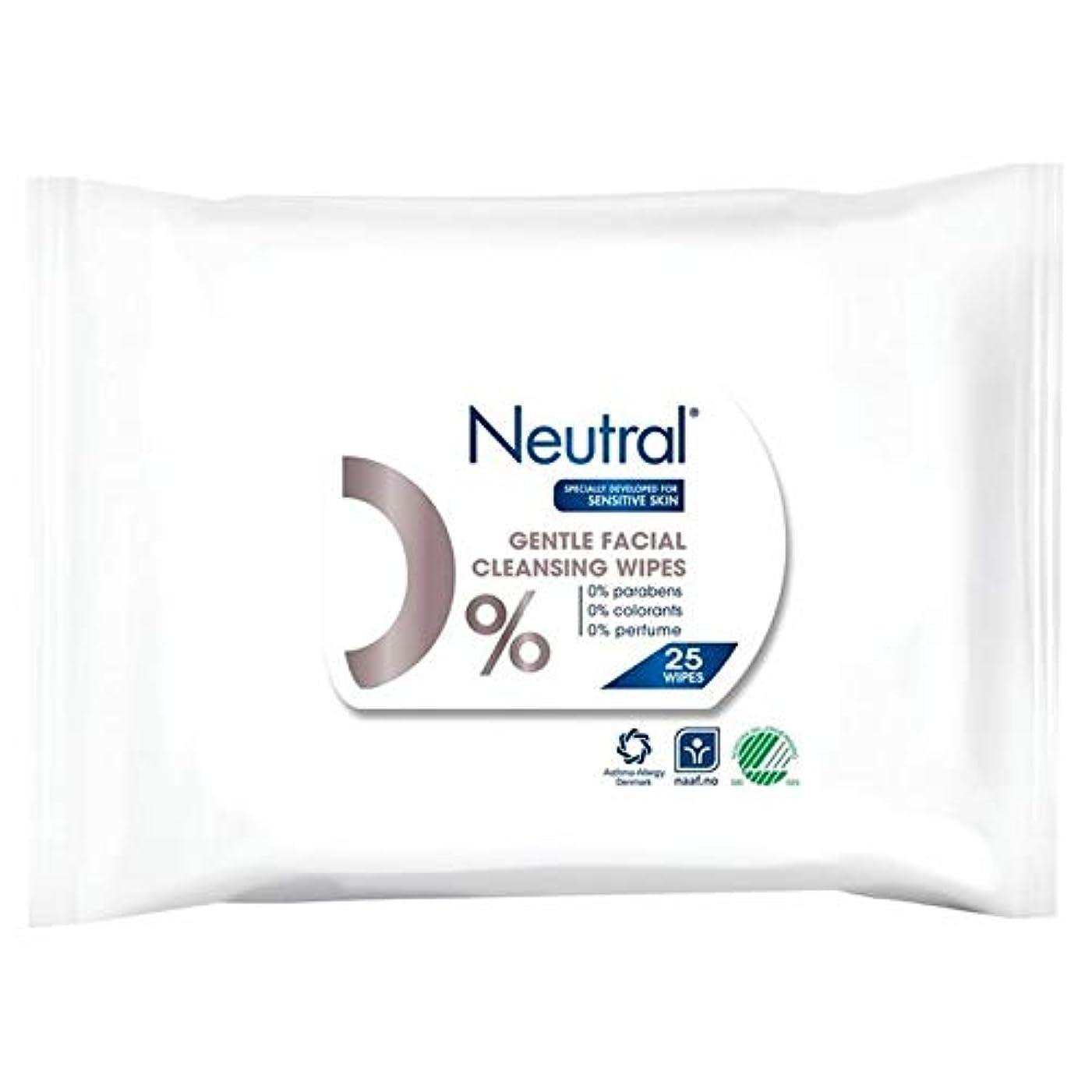 砦保育園エピソード[Neutral ] ニュートラル0%顔はパックあたり25ワイプ - Neutral 0% Face Wipes 25 per pack [並行輸入品]