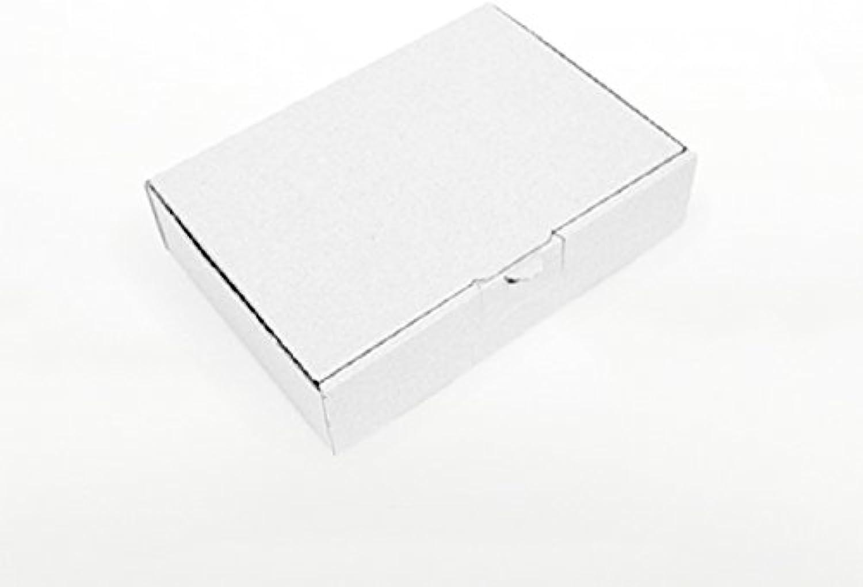 1000 x Maxibriefkartons Maxibriefkartons Maxibriefkartons 180 x 130 x 45 mm Weiss - Marken-Qualität von OfficeKing® B00KB6A364   Räumungsverkauf  6f4231