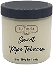 SWEET PIPE TOBACCO Soy Wax 14 oz. Jar Candle