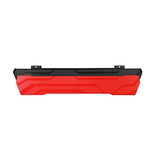 Bloody PR-22 Detachable Wrist Rest for Bloody Gaming Keyboards B810 - B820 - B975 - Replacement Part - Red & Black Plates Included