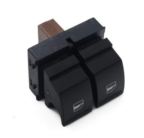 Rockyin Elektrische Steuerung Fensterheber-Schalter for Skoda Octavia Fabia 2 Ster 1Z0959858