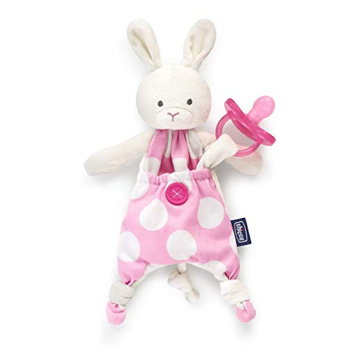 Chicco 00008012100000 Pocket Friend, Girl (Hase), rosa