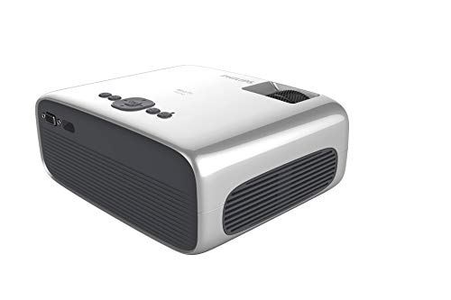 Philips NeoPix Prime Video Projector, 120 Inch Display, Wi-Fi Screen Mirroring, Bluetooth, Built-in Media Player, HDMI, USB, microSD, 3.5mm Audio Out Photo #2