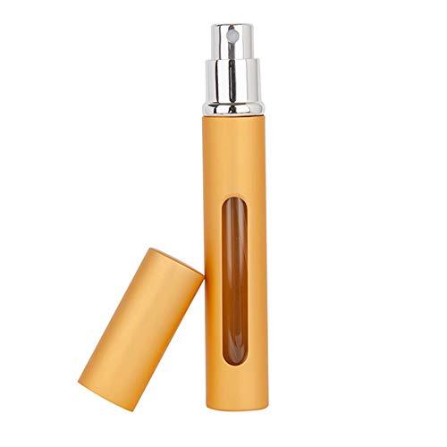 XYBB Vaporisateur Bouteille D'Atomizer De Parfum Rechargeable 10.8 * 1.45 cm Or