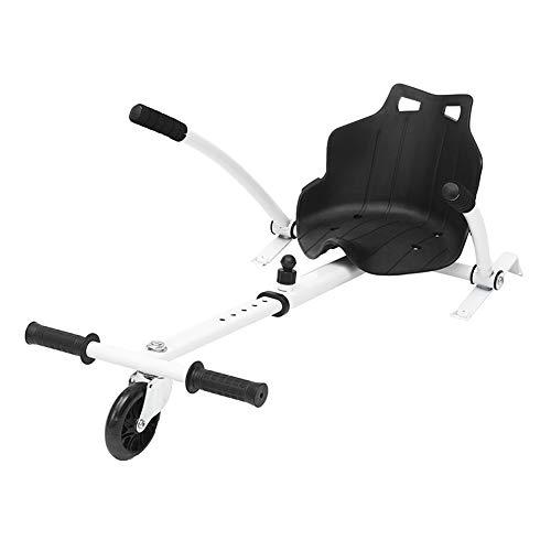 Shopps Verstellbares Hoverboard Go Kart - Sicherheit, stabil mit Sitzschaumgriff Hinterradfederung - für Kinder- oder Erwachsenenroller, Balance Board Nicht im Lieferumfang enthalten