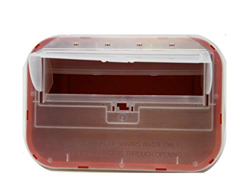 buy  One Gallon Sharps Containers with Pop Up Lid (Two ... Diabetes Care