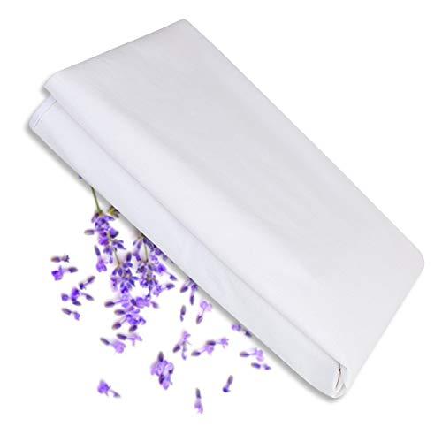 Karcore Matratzenschoner Wasserdicht 90 x 200 cm Bettlaken 100% Baumwolle Anti-Milben/Anti-allergisch Spannbettlaken