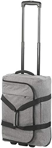 Xcase Faltbarer Koffer: Faltbarer 2in1-Handgepäck-Trolley und Reisetasche, 44 Liter, 2 kg (Tasche mit Rollen)
