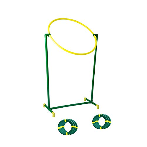 outdoor yard games Discet Outdoor Game for Adults Kids and Family, Great Yard Game for The Beach, Backyard, Camping Trips, Play and Create Super Fun Games with Flying Discs