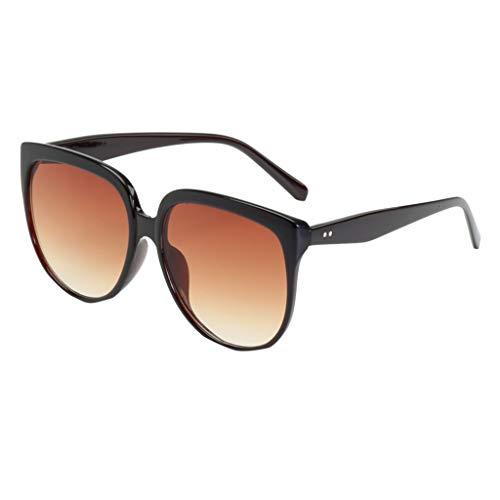 Gafas de sol Transwen, diseño unisex, irregulares, vintage, polarizadas, clásicas, retro, para hombre y mujer