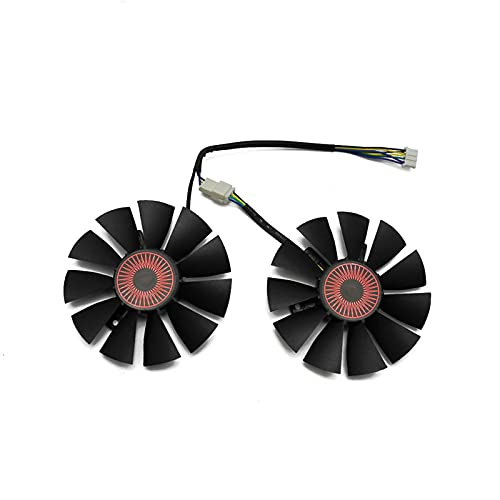 T128010BH 75MM DC 12V 0.25A Fan De Enfriador para ASUS Strix GTX1060 1050 GTX960 GTX950 GTX750TI R9 370 Tarjeta Gráfica