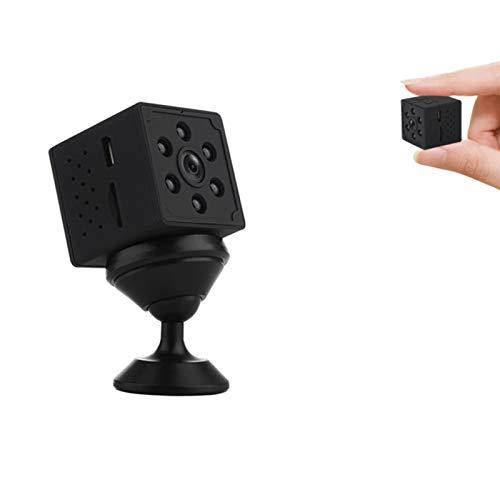 TZUTOGETHER Mini cámara espía Oculta con aplicación,cámaras HD 1080P con grabación de Video,cámara de vigilancia de Seguridad con WiFi,Control Remoto inalámbrico,Sensor Movimiento,Visión Nocturna