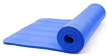 GDFEH Esterilla de yoga NBR para fitness, esterilla de yoga, gruesa, antideslizante, extragrande, para hombres y mujeres, gimnasio en casa, fitness, pilates, aeróbicos