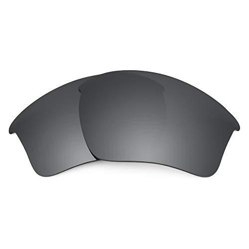 Revant Revant Ersatzgläser Kompatibel mit Oakley Half Jacket 2.0 XL, Polarisiert, Schwarz Chrome MirrorShield