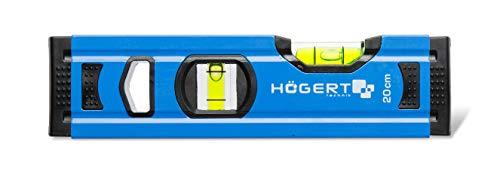 HÖGERT HT4M001-D Wasserwaage, Blau, 20×5.65×2.1 cm