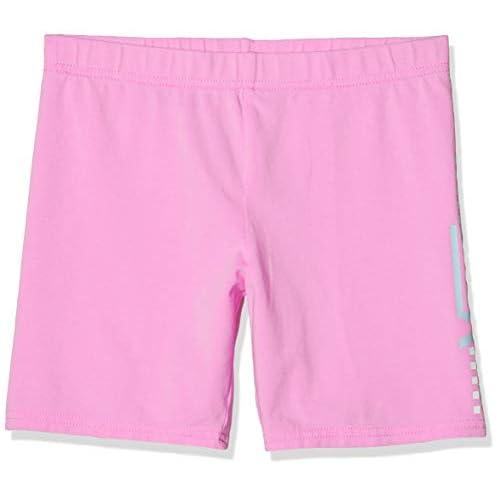 Vans Funnier Times Bike Short Grls Leggings, Rosa (Fuchsia Pink Unu), Medium Bambina