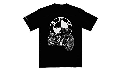 BMW T-Shirt Dealershirt Klassisches Roundneck-T-Shirt Heritage Bike purer Baumwolle (M)
