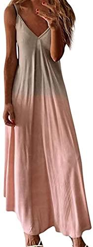 SXFYGYQ Mini Vestido de la Mujer, Es para Mujer, Encaje Elegante Madre de Novia Blusas Tops Vestido (Color : Pink2, Size : L)