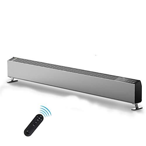 Radiator voor plintgeleider, elektrische radiator, energiebesparend, voor badkamer, vloerverwarming, convectorverwarming, convector