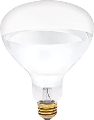 Westinghouse 0391500, 375 Watt, 120 Volt Clear Incandescent R40 Light Bulb - 5000 Hours