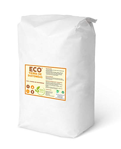 ECO Tierra de diatomeas Micronizada 20kg - Producto 100% Nat
