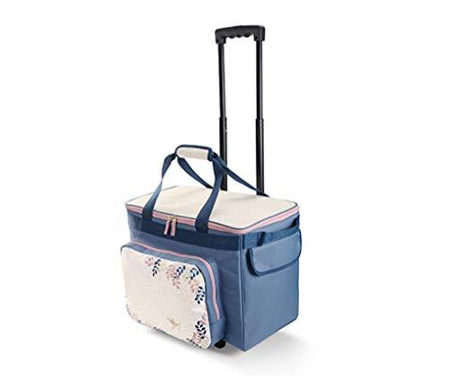 TCM Tchibo Nähmaschinen Trolley Nähmaschinentasche Nähmaschinen Tasche Nähmaschinenkoffer Koffer Näh Overlockmaschine…