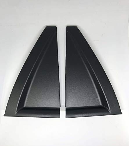 Automotiveapple OEM 838401F001 Rear Door Outside Delta Moldings RH for 06-10 Kia Sportage