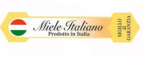 Apistore verzegeling met garantie etiketten, groot, Miele Italiano CONF. 1000 stuks