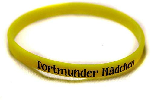 Borussia Dortmund Armband / Armbänder 5 Motive zur Auswahl Silikon - Schmuck BVB 09 (Dortmunder Mädchen)