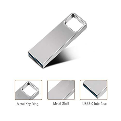 Preisvergleich Produktbild FeliSun Wasserdicht USB-Flash-Laufwerk USB 3.0 Flash Drive Speicherstick USB-Stick (32GB,  Silber)