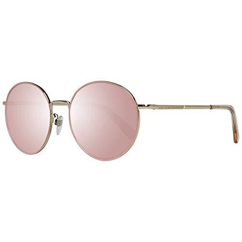 Diesel Sonnenbrille DL0246-K 5632L Gafas de sol, Dorado (Gold), 56.0 Unisex Adulto