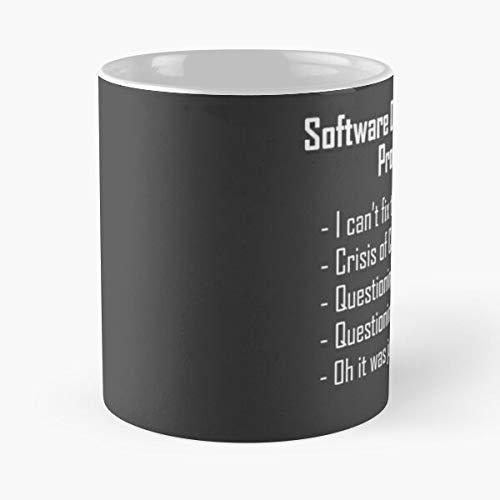 SQL Web Humour Developer Programming Software Humor Mejor Taza de café de cerámica de 315 ml Comer alimentos Bite John Best Taza de café de cerámica de 325 ml
