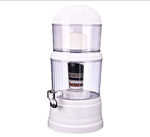 Filtro de Agua de 14L Purificador de Agua doméstico Dispensador de Agua alcalina Tratamiento de Agua Potable Bebida Recta