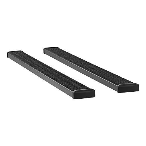 LUVERNE 415098-400745 Grip Step Black Aluminum 98-Inch Cargo Van Running Boards for Select Dodge, Freightliner, Mercedes-Benz Sprinter 2500, 3500