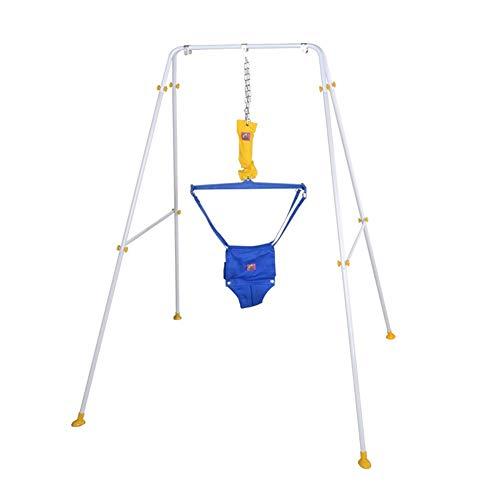 Saltador bebe Bebé Puerta del puente con el soporte, de rebote bebé columpio Cuelgue salto del asiento del estante aptitud bebé Puentes y hamacas umbral de salto Paseo ejercitador soporte for