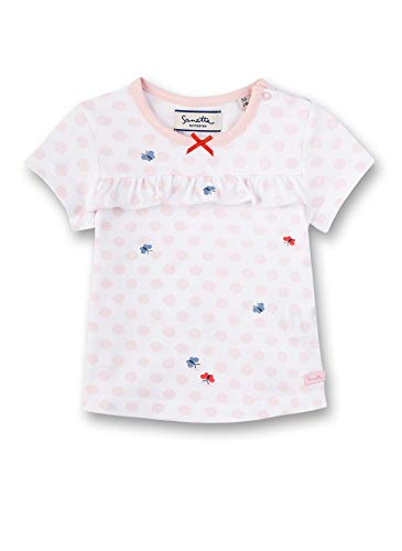 Sanetta Fiftyseven T-Shirt, Blanc (White 10), 58 (Taille Fabricant: 056) Bébé Fille