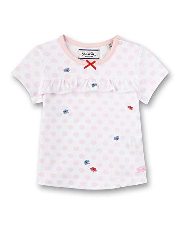 Sanetta Baby-Mädchen Fiftyseven T-Shirt, Weiß (White 10), 74 (Herstellergröße: 074)