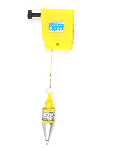 uxcell - a14091200ux0042eu Uxcell a14091200ux0042 Magnetic 400g Plumb Bob Straight Level Setter Test Device 5 Meters